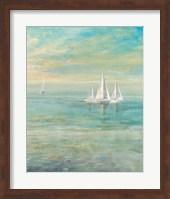 Sunrise Sailboats II Fine Art Print