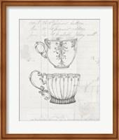 Authentic Coffee IV White Gray Fine Art Print
