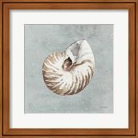 Sand and Seashells I Fine Art Print