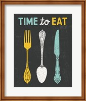 Retro Diner Time to Eat Fine Art Print