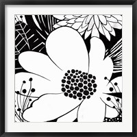 Feeling Groovy II Black and White Fine Art Print