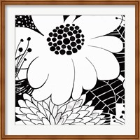Feeling Groovy I Black and White Fine Art Print