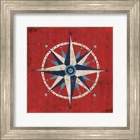 Nautical Love Compass Fine Art Print