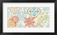 Crimson Stamps I Spring Fine Art Print