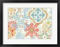 Crimson Stamps IV Spring Fine Art Print