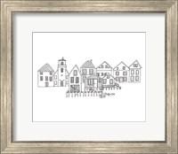 Nordic Village III Horizontal v2 Fine Art Print