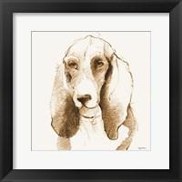 Oberon Brown and Orange Fine Art Print
