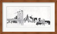 Skyline Crossing Silver Fine Art Print