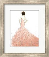 Dazzling Diva Dark Hair Fine Art Print