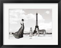 Trocadero View (detail) Fine Art Print