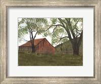 The Old Brown Barn Fine Art Print
