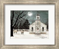 I Heard the Bells on Christmas Day  - Darker Sky Fine Art Print