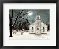 I Heard the Bells on Christmas Day  - Darker Sky Fine Art Print