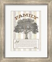 Family Prayer Tree Fine Art Print