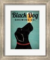 Black Dog Brewing Co v2 Fine Art Print