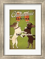 Double Chihuahua Los Angeles Fine Art Print
