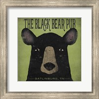 The Black Bear Pub Fine Art Print