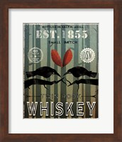 Old Salt Whiskey Love Birds Fine Art Print