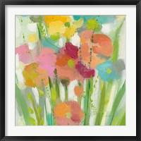 Longstem Bouquet II Square II Fine Art Print