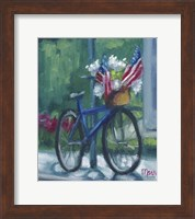 Patriotic Bike Fine Art Print