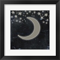Good Night Moose2 Surface Pattern 6 Fine Art Print