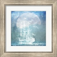Sailor Away Ship 2 Fine Art Print