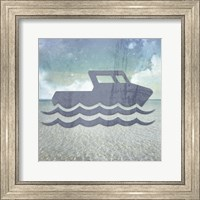 Beach Signs Boating1 Fine Art Print