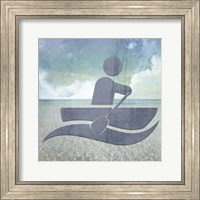 Beach Signs Boating3 Fine Art Print