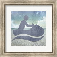 Beach Signs JetSki Fine Art Print