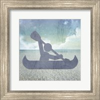 Beach Signs Kayak Fine Art Print