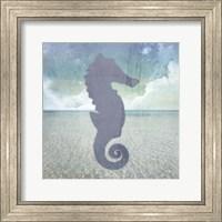 Beach Signs SeaHorse Fine Art Print
