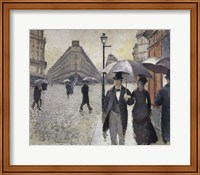 Rainy Day In Paris Fine Art Print