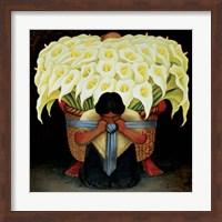 El Vendedor de Alcatraces Fine Art Print