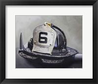 Fire Helmet Fine Art Print