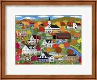 New England Autumn Fine Art Print