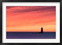 Fiery Whaleback Fine Art Print