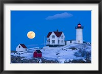 Snow Moon Fine Art Print