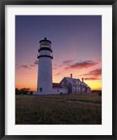 Cape Cod Sunset - Vertical Fine Art Print