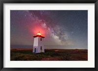 Night Tower Fine Art Print