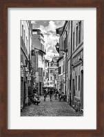 Historic street of Rome Fine Art Print