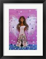 Maddie's Guardian Angel Fine Art Print