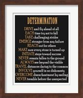 Determination Fine Art Print