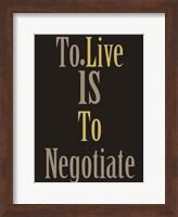Negotiation 1 Fine Art Print