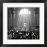 1930s 1940s Interior Pennsylvania Station New York City? Fine Art Print