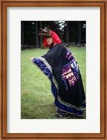 Makah Indian Female Dance Costume Fine Art Print
