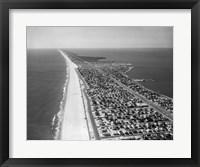 1970s 1980s Aerial Of Jersey Shore Fine Art Print