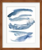 Indigo Waves Crop Fine Art Print