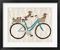 Doxie Ride ver II Fine Art Print