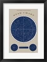 Northern Star Chart Fine Art Print