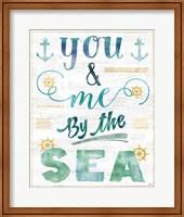 Coastal Words II on Wood Fine Art Print